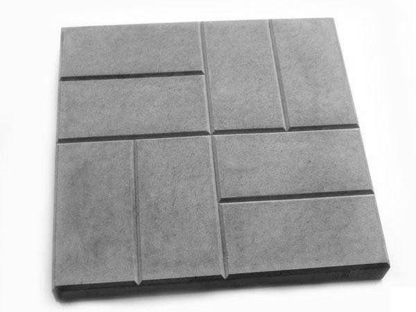 """Пластиковые формы для тротуарной плитки """"8 кирпичей"""""""