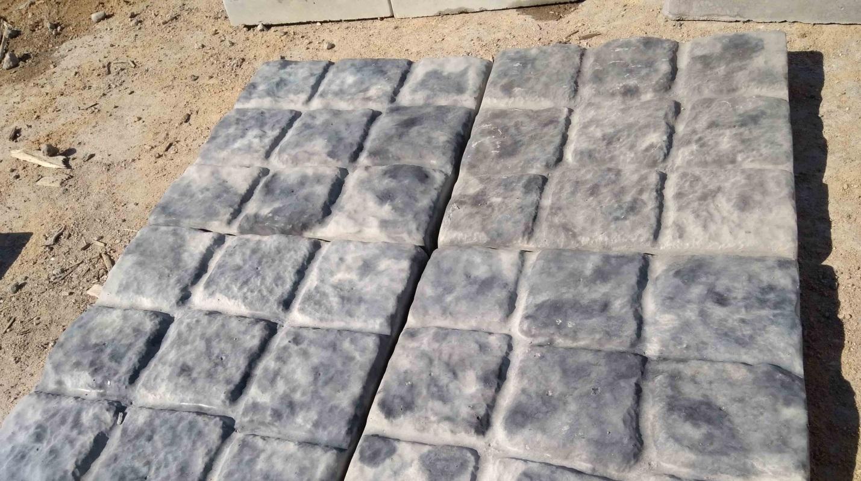"""Пластиковые формы для тротуарной плитки """"Малый песчаник"""""""