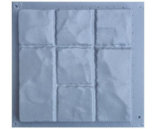 """Пластиковые формы для тротуарной плитки """"Рваный камень"""""""