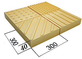 Тактильная плитка (в соответствии ГОСТ Р 52875-2007)