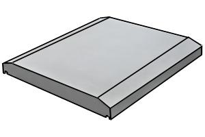 Плита парапетная (тип 3)
