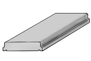 Плита парапетная (тип 4)