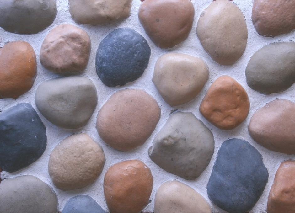 """Облицовочный искусственный камень """"Галька речная"""""""
